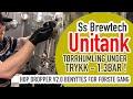 Tørrhumling under trykk  - Ss brewtech Unitank + Hop Dropper V2.0