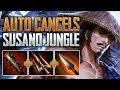 Auto Cancels   Susano Jungle Gameplay (SMITE Conquest)
