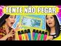 TENTE NÃO PEGAR! (TRY NOT TO CATCH CHALLENGE) | Blog das irmãs
