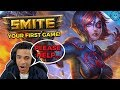 A 2000 HOUR SMITE PLAYER...TEACHES YOU SMITE!   HOW TO PLAY YOUR FIRST GAME! (NEITH Season 6)