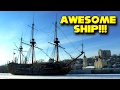 Suddenly, a Ship! Awesome Goto Predestinatsia Ship! Full-Size Replica!