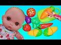 Куклы Пупсики Играют в Игрушки Мультик Маша и Медведь Распаковка Покупки Овощи Фрукты Zyrikitv топ