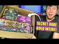 POKEMON SENT ME A HUGE BOX OF CARDS w/ a *SECRET RARE GOLD* OPENING INSIDE!