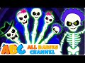 Halloween Finger Family Song   Halloween Songs   Halloween Nursery Rhymes   All Babies Channel