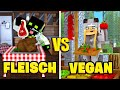 FLEISCH VS VEGAN?! - Minecraft [Deutsch/HD]