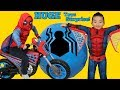 BIGGEST SPIDERMAN Homecoming Toys Surprise Egg Ever!! All New Spider-Man Toys Ckn