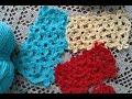 Узор крючком. Безотрывное вязание крючком. Цветочный мотив крючком // Сrochet pattern