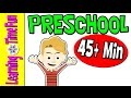 Preschool Learning | Videos for Kids | ABC's | Phonics | Colors | Shapes | Numbers | Months | Time