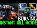 BURNING [Chaos Knight] One Hit Instant Kill Mode Cancer Gameplay 7.22 Dota 2