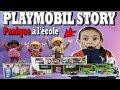 PLAYMOBIL STORY : Panique à l'école aménagée  (HISTOIRE) 9453