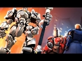 [Overwatch] Saxton Hale Boss Fight!