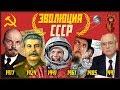 ЭВОЛЮЦИЯ СССР