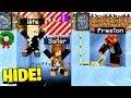 TROLLING MY WIFE & SISTER in HIDE & SEEK! - Minecraft Mods