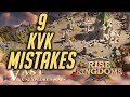 9 KvK Mistakes to Avoid in Lost Kingdom | Rise of Kingdoms