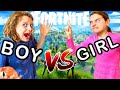 BOY VS GIRL FORTNITE Gaming w/ The Norris Nuts