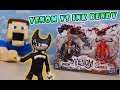 Bendy the INK DEMON Vs. VENOM EPIC FIGHT Venom & Carnage Toys Unboxing