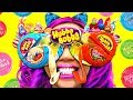 SO COOL! DIY HUBBA BUBBA Tape Sunglasses! Fun School Day