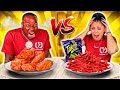 SPICY VS EXTREME SPICY FOOD CHALLENGE