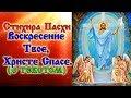Стихира праздника Пасхи Христовой Воскресение Твое Христе Спасе аудио молитва с текстом и иконами