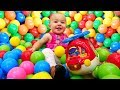 Бассейн с шариками и Вертолет - развивающие Дада игрушки для малышей