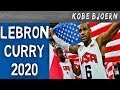 Dream Team Blamage!! LEBRON & CURRY bei Olympia 2020??   Kobe Bjoern