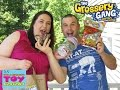Grossery Gang Opening Gross Food Challenge Blind Bag Toy Review   PSToyReviews