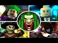 LEGO Batman 2 DC Super Heroes - All Story Mission Boss Fights