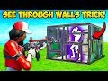 *NEW TRICK* SEE THROUGH ANY WALL!! - Fortnite Funny Fails and WTF Moments! #728