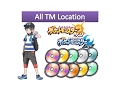 All TMs Locations in Pokemon Sun and Moon