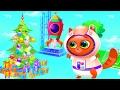КОТЕНОК БУББУ КОСМОНАВТ мультики про животных мой виртуальный питомец БУБУ #10 Видео для детей