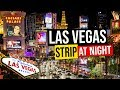 LAS VEGAS STRIP AT NIGHT, Nevada, USA.
