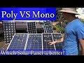Amazon.com Solar Panels: Mono vs Poly - Real World Test - Worth the $$?