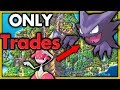 Can I Beat Pokemon Platinum with Only In Game Trades? 🔴 Pokemon Challenges ► NO ITEMS IN BATTLE