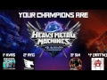 Heavy Metal Machines European Championship Finals