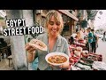 We Tried Egypt Street Food | Must Eat Local Dishes in Cairo