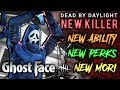 NEW KILLER: GHOSTFACE! Mori, Perks and Ability - Dead by Daylight with HybridPanda