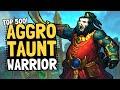 Aggro Taunt Warrior is NUTS!! Freshca's LEGEND List   Saviors of Uldum   Hearthstone