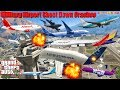 GTA V: Every Airbus Airplanes Military Airport Shoot Down Crash and Fail Compilation
