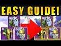 Upgrade Solstice Armor FAST & EASY! | Legendary (Majestic) to Masterwork! | Destiny 2