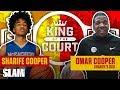 Sharife Cooper's Dad had RACKS on the Line for 1-v-1 💸   SLAM King of the Court