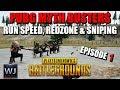 PUBG MYTH BUSTERS #1: Pistol Run speed, Redzone & Sniping 2000 meters