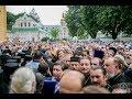 250 тысяч верующих пришли на молебен и крестный ход от Владимирской горки к Киево-Печерской Лавре