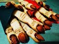 """Печенье """"Пальцы ведьмы"""" на Хэллоуин. Жутко вкусно!!!! Удачи"""