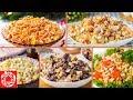 5 Легких САЛАТОВ на Новый Год 2020. Вкусно, Быстро и Просто. Рецепты на Новый Год