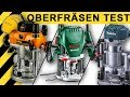 OBERFRÄSEN TEST   Bosch, Makita & Triton Oberfräse   Vergleich & Infos