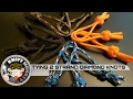 How to Tie a Diamond Paracord Knot and add a Paracord Balisong Latch