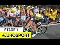 Tour de France 2019 | Stage 1 Highlights | Cycling | Eurosport