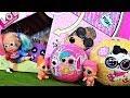 КУКЛЫ ЛОЛ СЮРПРИЗ МУЛЬТИКИ! КОРОБКА С ЛОЛ СЮРПРИЗАМИ и паучок для Харли ЛОЛ #lolsurprise #doll
