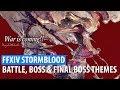 FFXIV Stormblood OST - Battle Theme, Boss Battle Theme & Final Boss Battle Theme