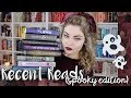 Recent Reads #6: Mysteries, Witches, Ghosts, Spooky Books Galore!